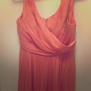 J. Crew Heidi Silk Chiffon Dress